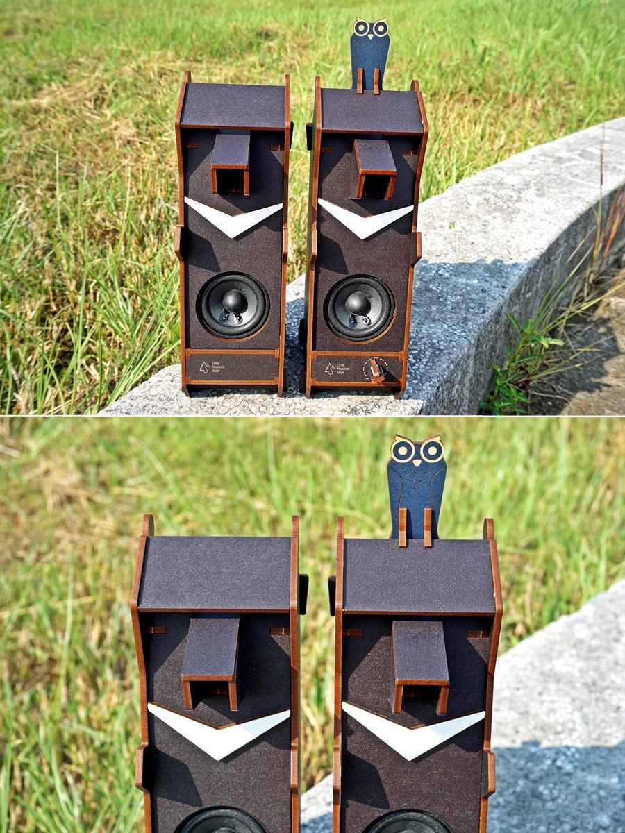 小山坡 Stereo Puzzle 立體拼圖音響 台灣黑熊 雙聲道