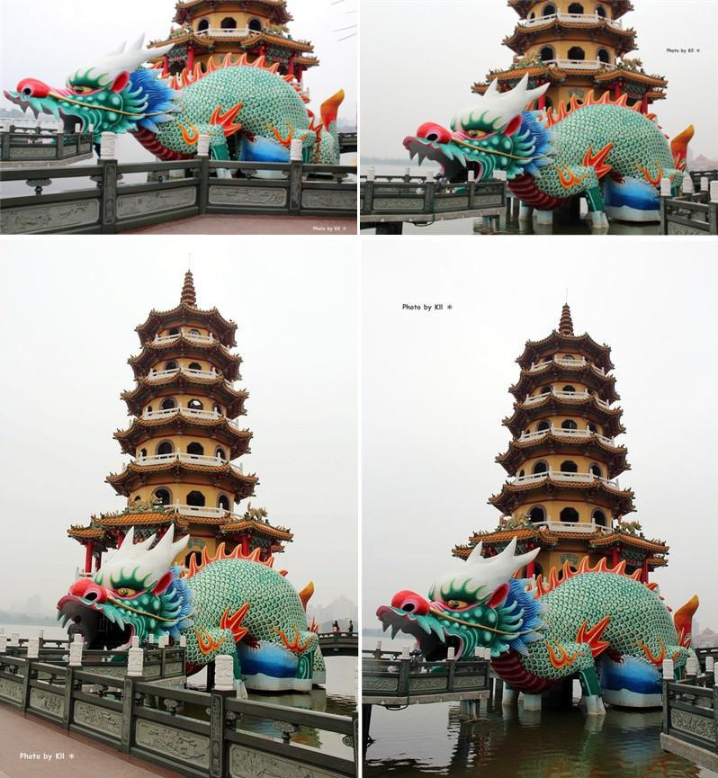 蓮池潭 龍虎塔