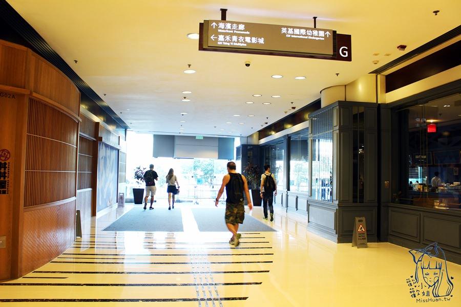 港鐵青衣站 海濱走廊