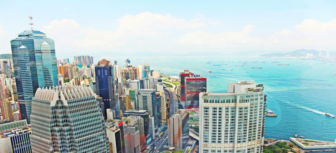 香港 ♥ 香港金融管理局 超美免費海景就在這裡看啦 !!!!!