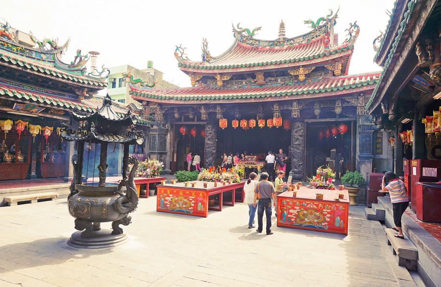 彰化鹿港景點 | 天后宮 湄洲祖廟開基聖母 國定古蹟 鹿港老街 香客大樓