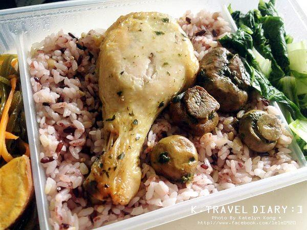 捷運信義安和站美食 | 原味廚房 大安廚房 每日便當菜色更換 養生便當 便當外送