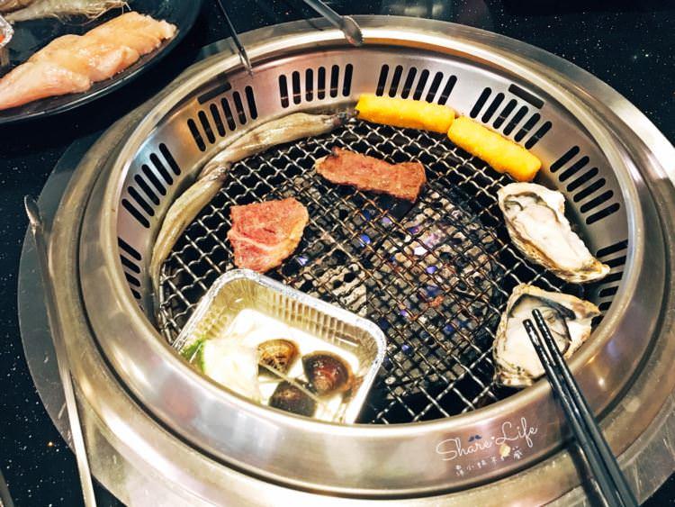 台中西區美食 | 日月燒烤 399韓國生蠔吃到飽 699還有鮑魚 天使紅蝦 無限吃 美村路一段餐廳 聚餐聚會好選擇