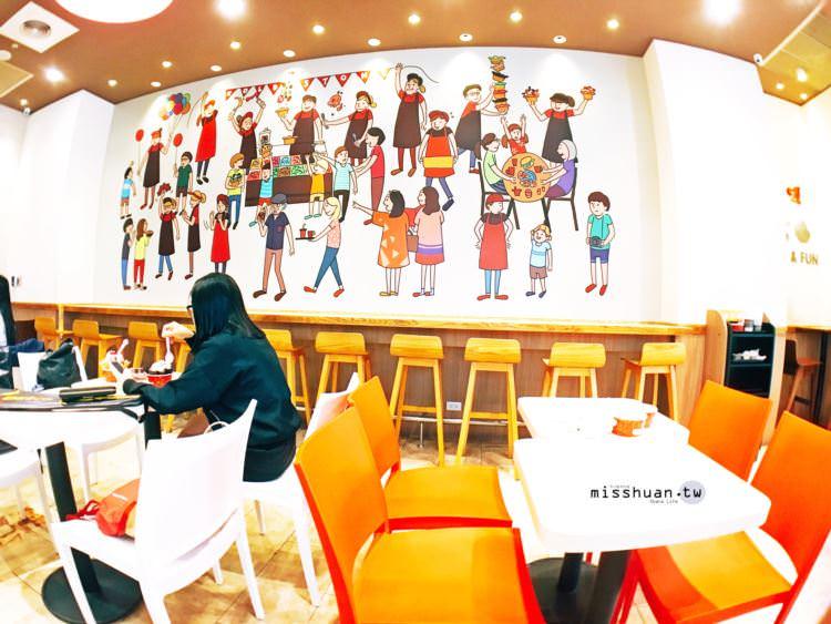 台中西區美食 COLD STONE CREAMERY TAIWAN 酷聖石冰淇淋 大膽創作專屬自己的冰淇淋 手工現做脆餅Waffle 公益路甜點 勤美誠品綠園道 勤美術館 聚餐聚會首選