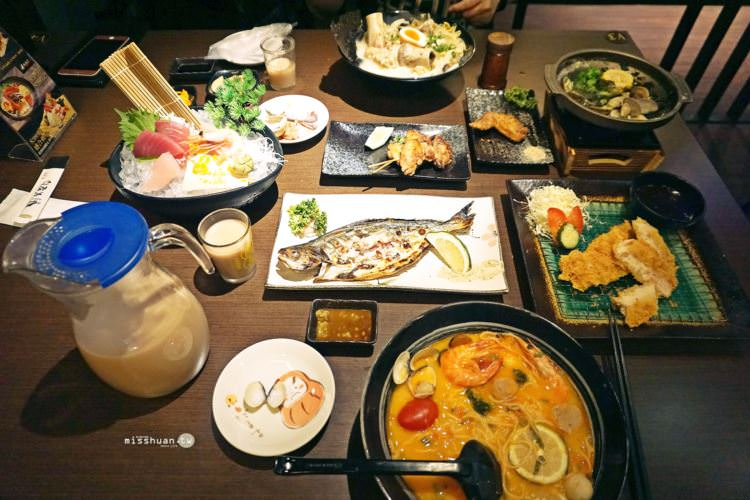 台中西區美食 | 大間町 和食 深夜食堂 宵夜時光也能品嚐到日本料理 夜貓子好去處 夜間部對面 異國創意拉麵 串燒 喝酒小酌 素食 精誠路餐廳 聚餐聚會首選