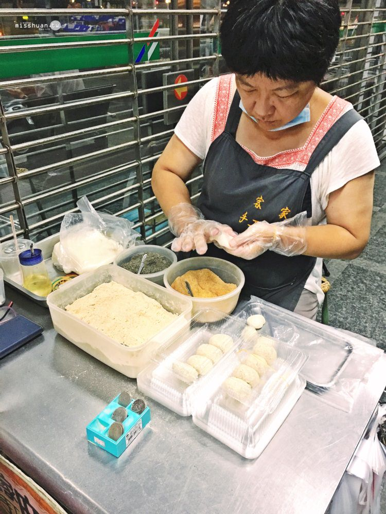 台中西區美食 手工客家麻糬 傳統麥芽糖 英才郵局居然被古早味美食包圍 民生路美食 親切熱情揪甘心 一吃就上癮