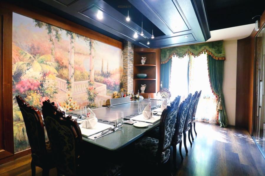 台中西屯美食 豐饡鐵板燒餐廳 奢侈高級享受 約會 求婚 生日慶生 隱私包廂 免費停車場