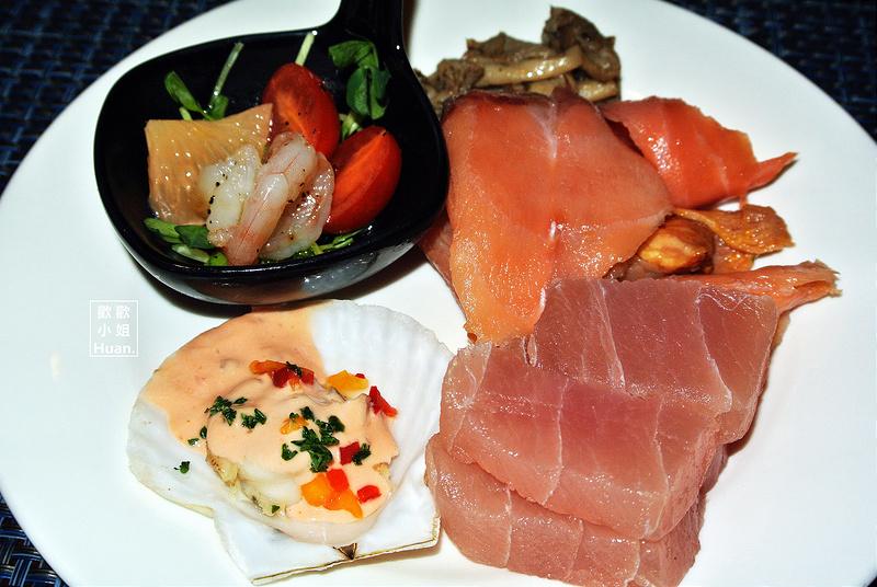 捷運台北車站美食 | 福君海悅大飯店 歐式自助餐 Buffet 花園西餐廳
