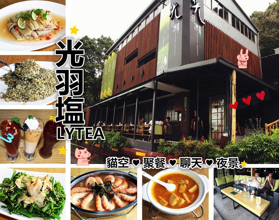 台北文山美食 光羽塩 貓空餐廳 創意茶葉料理 看夜景 約會 凌晨宵夜場 生日慶生 聚餐聚會