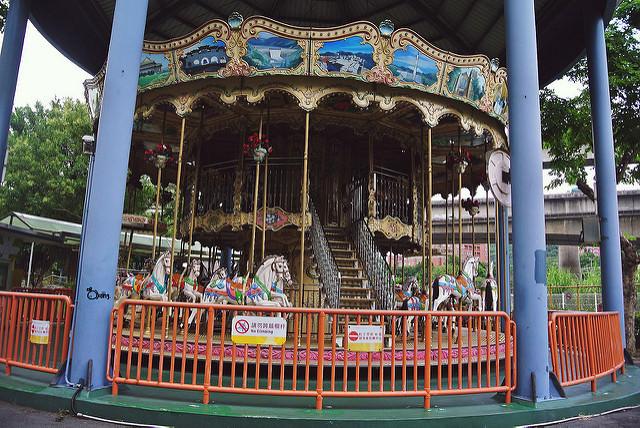 已搬遷 | 台北市立兒童育樂中心 遊樂世界 孩童們記憶中永恆的快樂園地