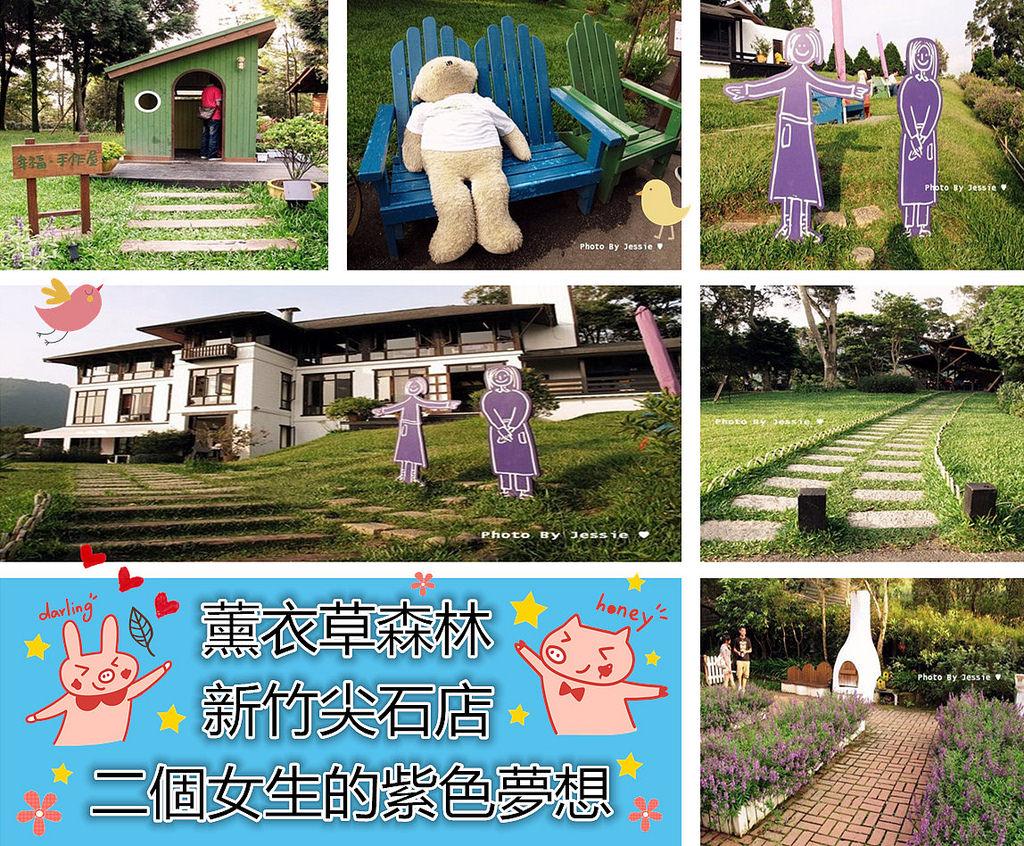 新竹尖石景點 | 薰衣草森林 二個女生的紫色夢想