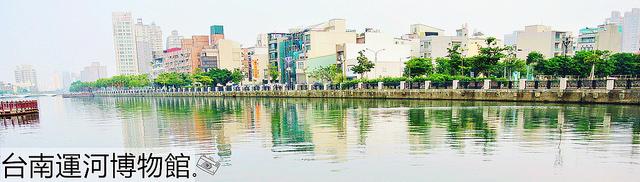 台南安平景點 | 台南運河博物館 市定古蹟 免費參觀 紀念品