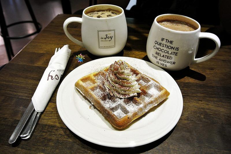 捷運板橋站美食 | In Joy chocolate 原來巧克力不單單是這麼的簡單 ♥♥♥