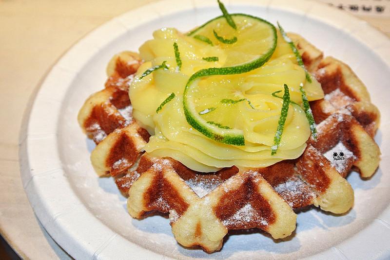 捷運松山站美食   MR.PAPA WAFFLE&CAFE 比利時鬆餅專賣店 來自比利時的幸福滋味 手造比利時列日鬆餅